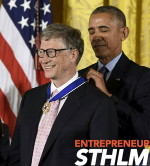 medal of freedom bill gated entrepreneur